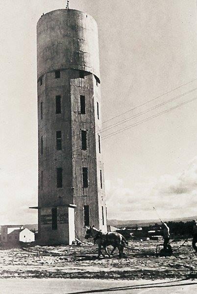 Строительство водонапорной башни Нагарии