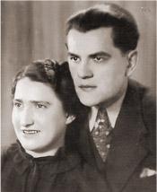 Рэйнгольд Авраам Зоглобек и его жена Ирмгард Левит Кабилецки