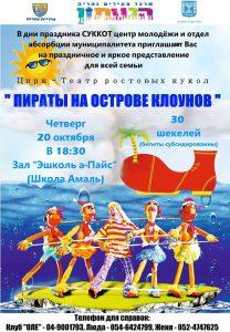 Пираты на острове клоунов