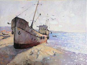 Владислава Полищук. Morning 2016г. Oilcanvas.