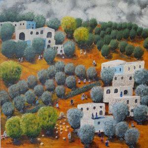 Нагарийский художник запечатлел исчезающие пейзажи Галилеи