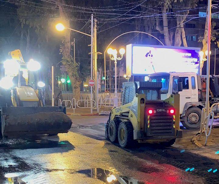В Нагарии проводятся работы по модернизации системы канализации