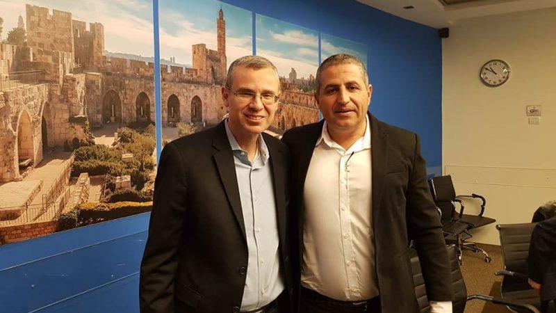 Встреча мэра Нагарии с  министром туризма Израиля