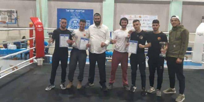 Кикбоксинг: спортсмены из Нагарии выиграли чемпионат Израиля