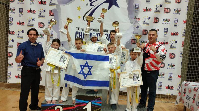 Наши юные каратисты – победители чемпионата Европы!