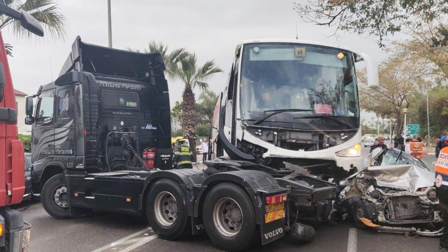 Четыре человека пострадали в результате ДТП в Нагарии