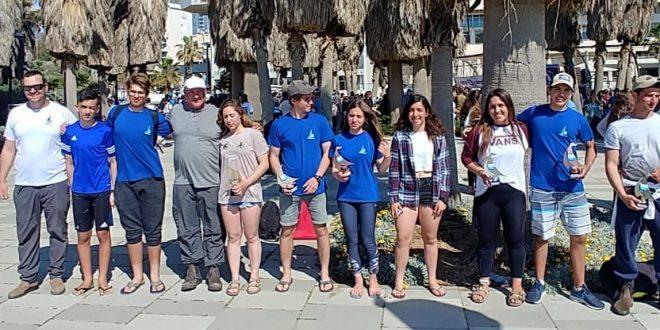 Члены клуба «Ямия-Нагария» лидируют в молодежном парусном спорте Израиля