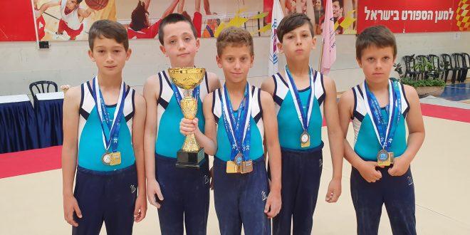 Спортивная гимнастика: юные чемпионы из Нагарии
