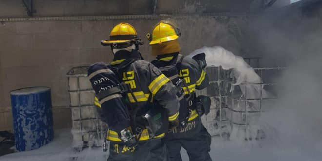 Нагария: пожар на заводе