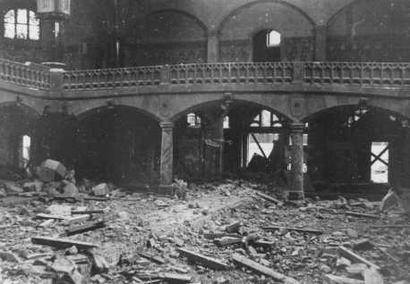 «Хрустальная ночь» 9-10 ноября 1938 года