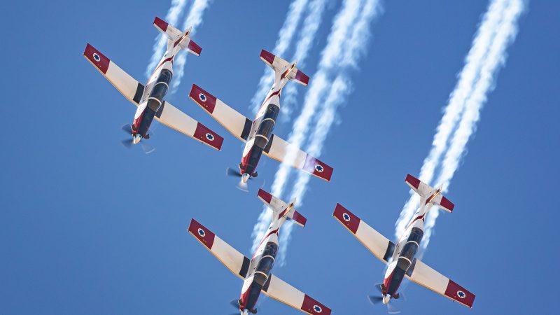 Воздушный парад «Израильское братство»
